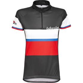 Bikester Basic Team Maillot de cyclisme Femme, black/red